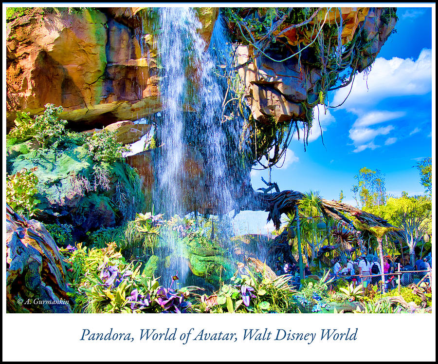 Pandora, World of Avatar, Walt Disney World by A Gurmankin