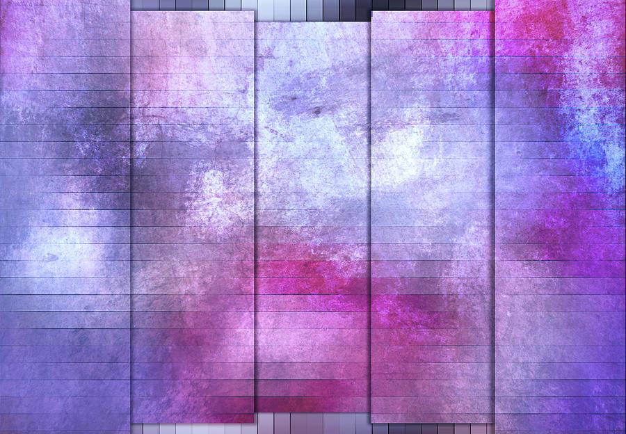 Panels - Crisp Winter Blue by Jason Fink