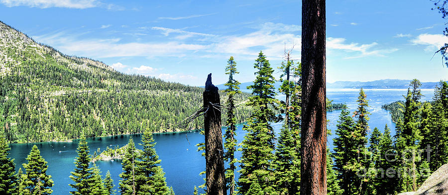 Pano Inspiration Point Emerald Bay by Joe Lach