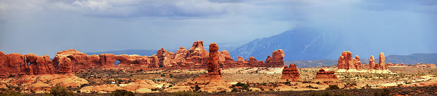 Panorama Of Arches Near Double Arch Photograph by Utah-based Photographer Ryan Houston