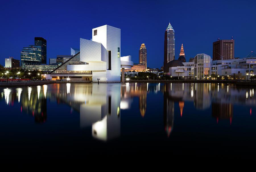 Panorama Of Cleveland Photograph by Henryk Sadura