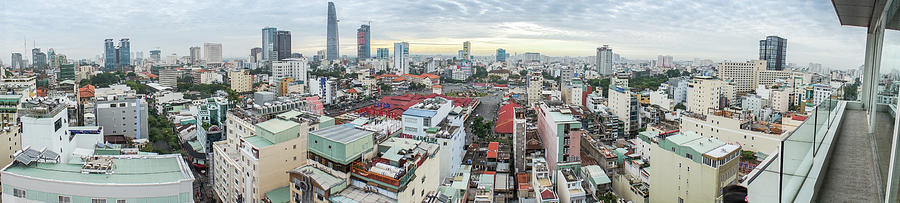 Panorama Of Ho Chi Minh City Photograph by By Thomas Gasienica