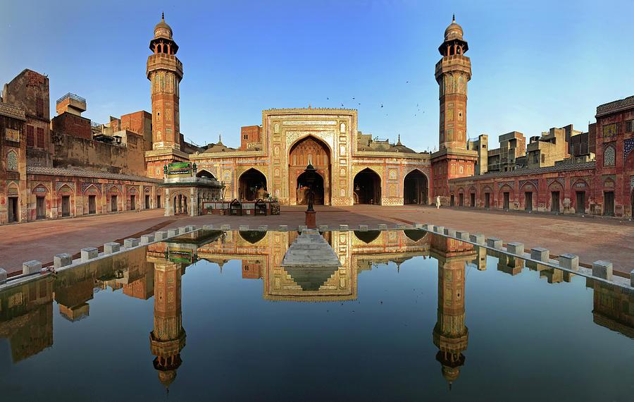 Panorama Of Masjid Wazir Khan Photograph by Yasir Nisar