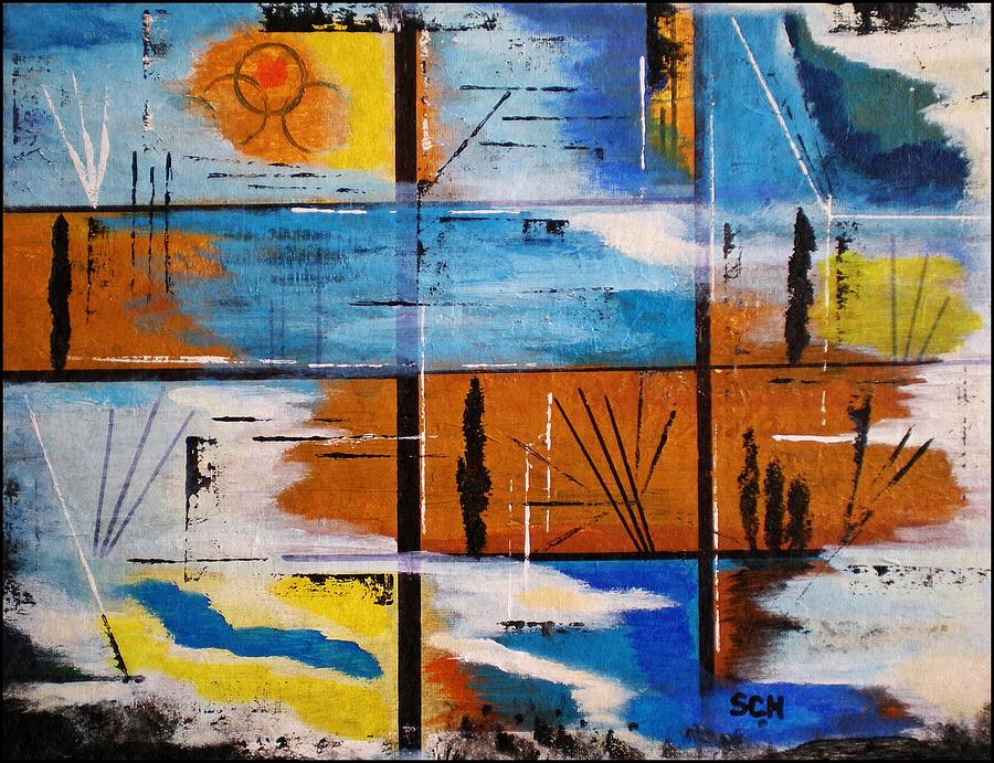 Abstract Painting - Panoramas by Scott Haley