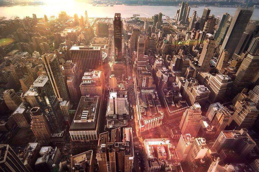 Panoramic View Of A Modern City Photograph by Ana Aguiar / Eyeem