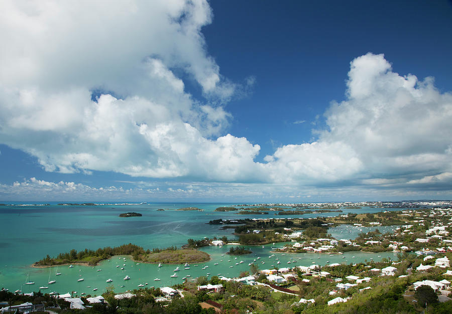 Panoramic View Of Bermuda, Towards Photograph by Elisabeth Pollaert Smith