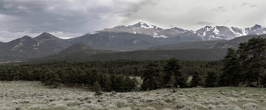 panoramic view of Rocky Mountains by Kyle Lee