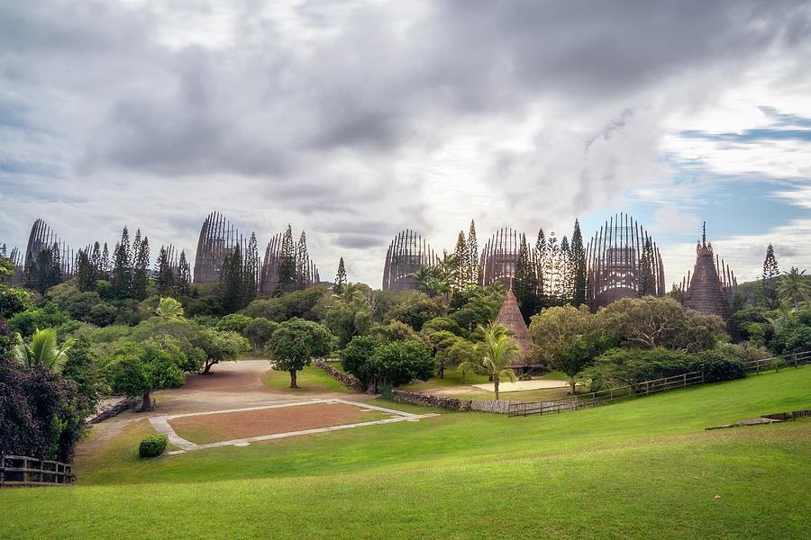 Panoramic View of Tjibaou Cultural Centre by Daniela Constantinescu