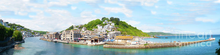 Panoramic Vista of Looe Estuary by James Lavott
