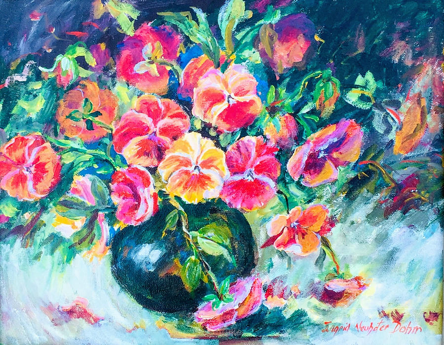Pansies on Parade by Ingrid Dohm