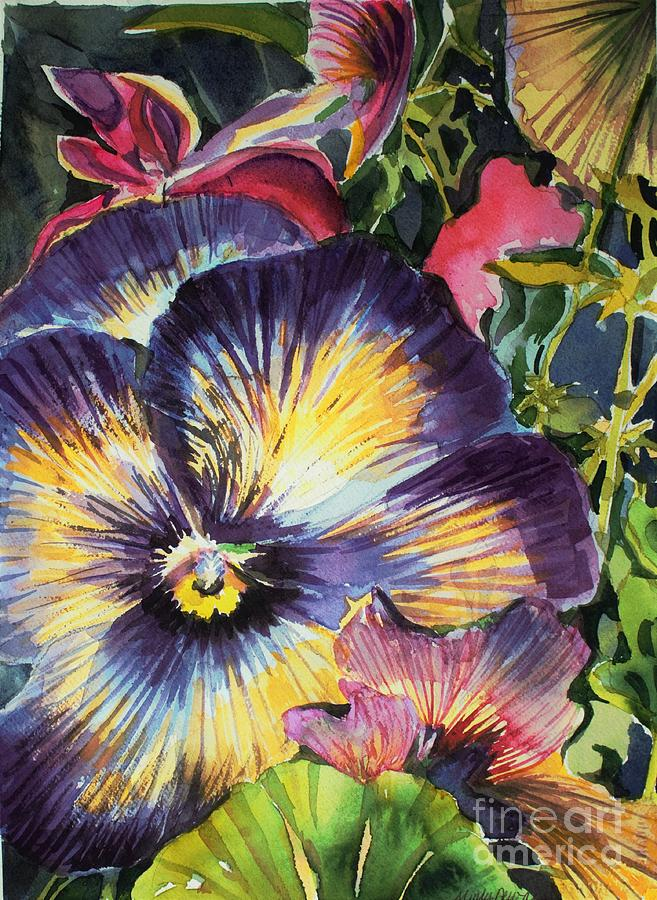 Pansy Paradise by Mindy Newman