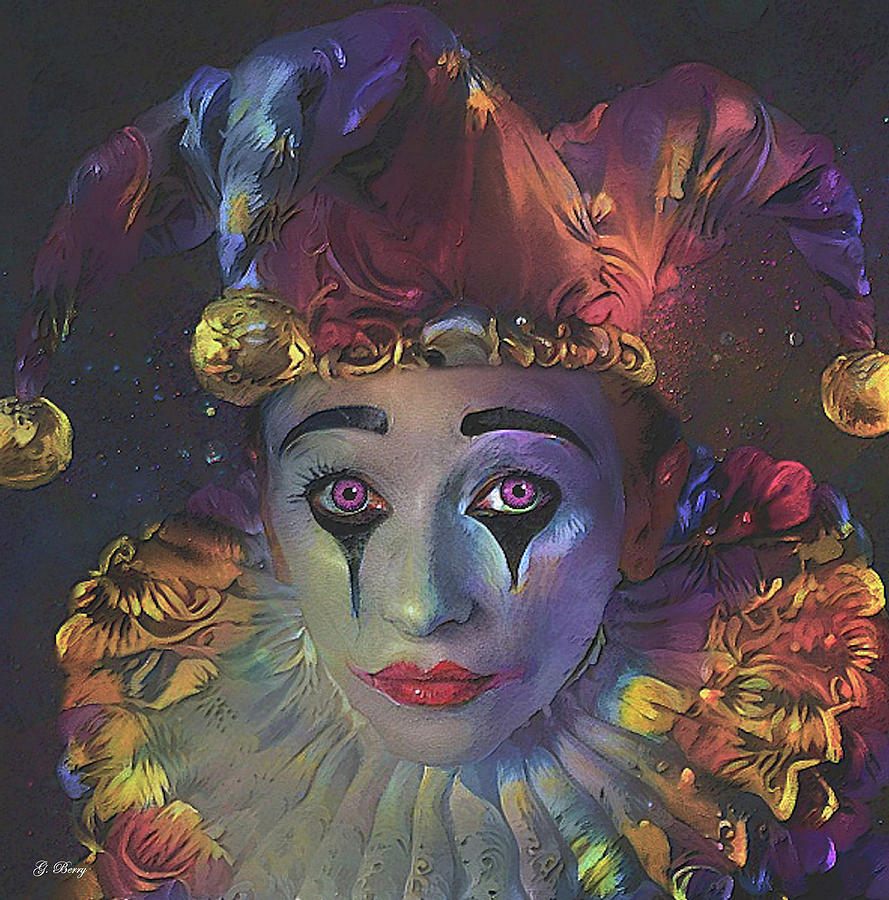 PANSY THE CLOWN by G Berry