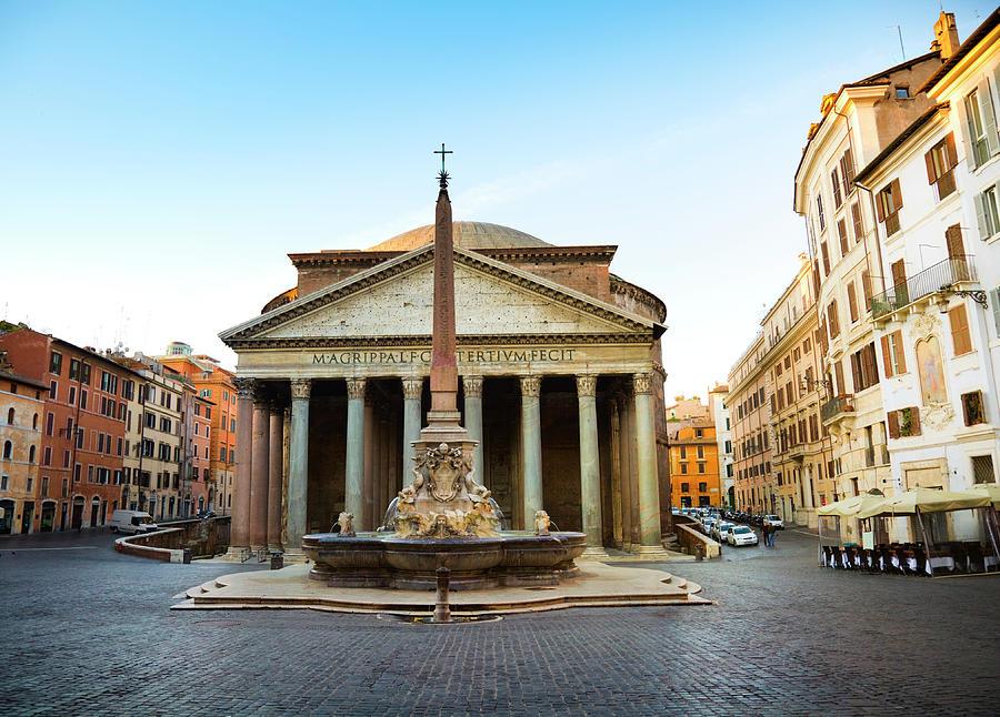 Pantheon, Rome Photograph by Brzozowska