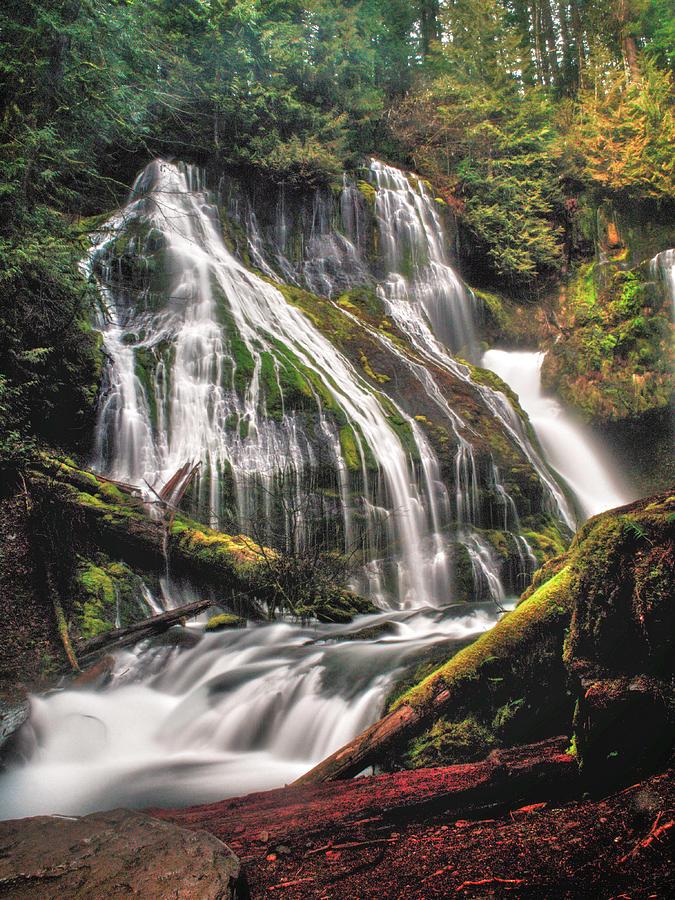 Waterfall Photograph - Panther Creek by Gene Graff