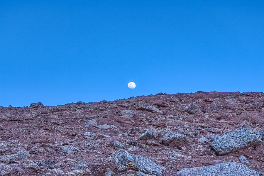 Papago Park Moon  by Anthony Giammarino