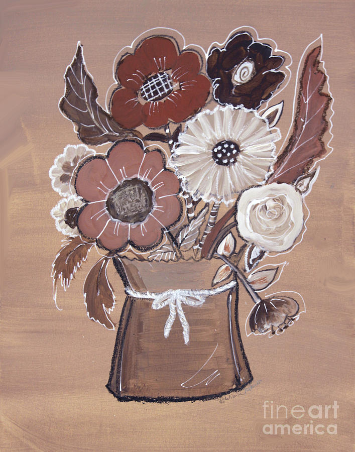 Paper Bag Bouquet by Robin Maria Pedrero