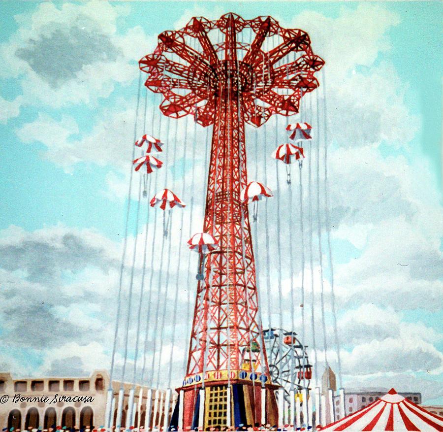 Parachute Jump by Bonnie Siracusa