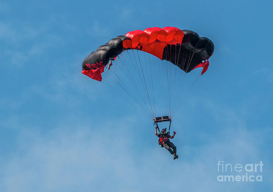 Parachute Jumper by Tom Claud