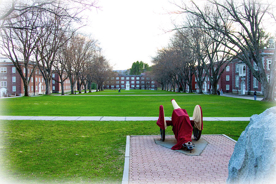 Parade Ground at Norwich University by Jeff Folger