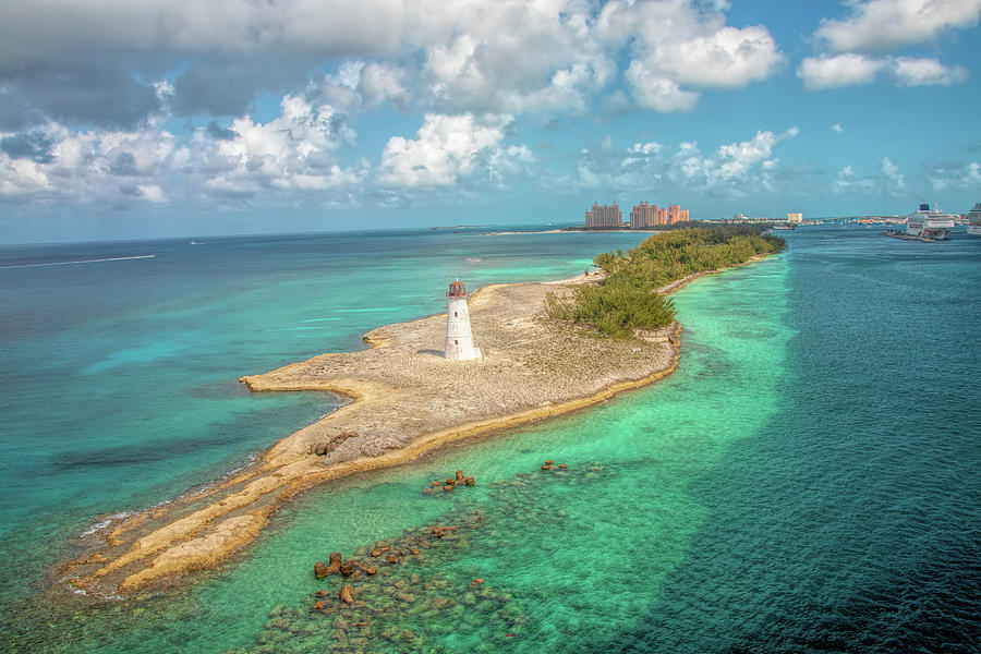 Paradise Island Lighthouse by Kristia Adams
