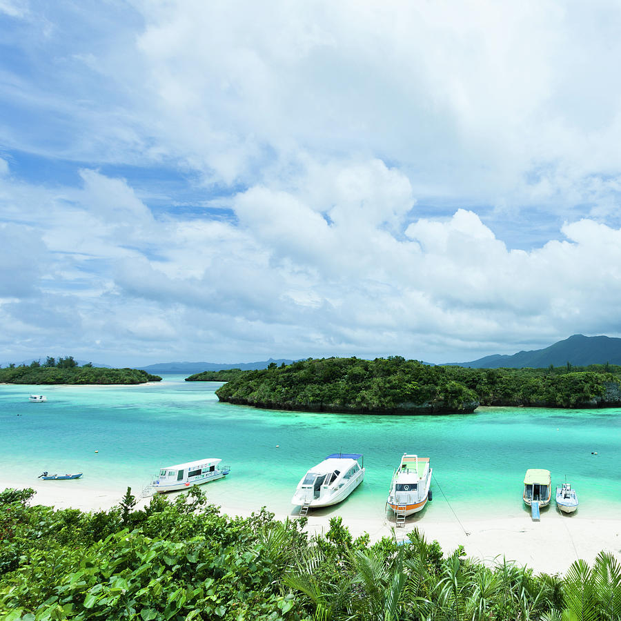 Paradise Lagoon Of Tropical Island Photograph by Ippei Naoi