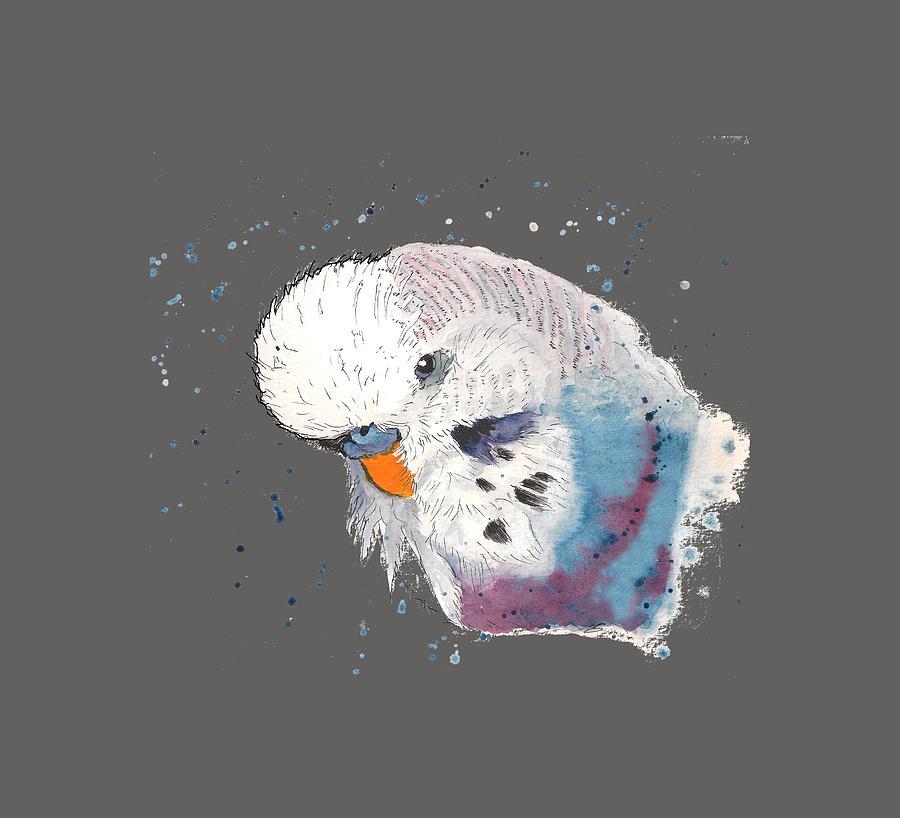 Parakeet Painting - Parakeet by Petra Stephens
