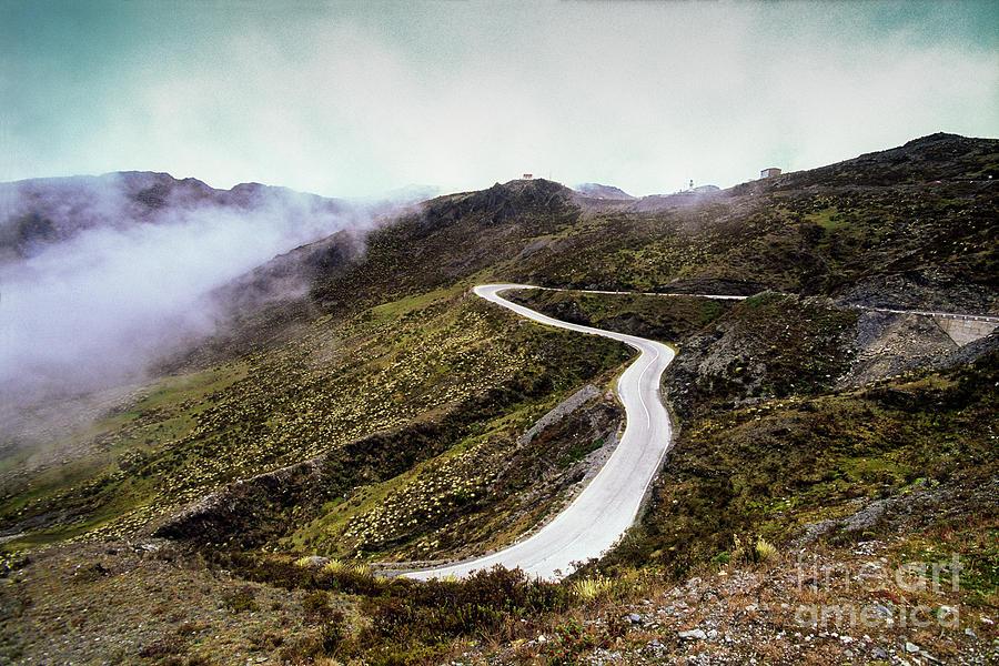 Paramo Road by Juan Silva