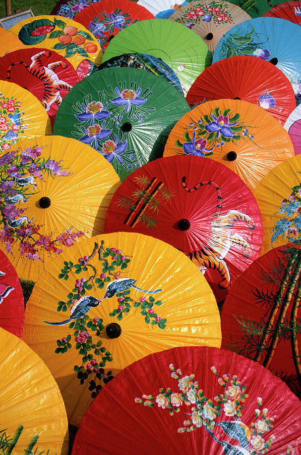 Parasols Photograph by Buena Vista Images