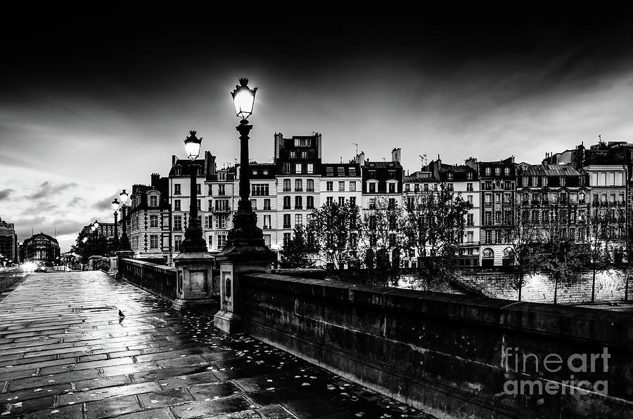 Paris at Night - Pont Neuf by Miles Whittingham