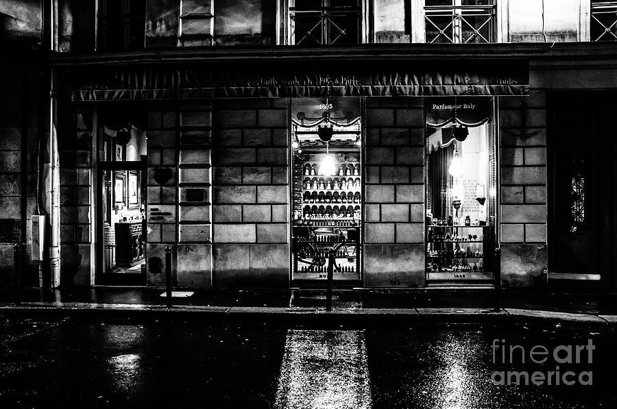 Paris at Night - Rue Bonaparte 2 by M G Whittingham