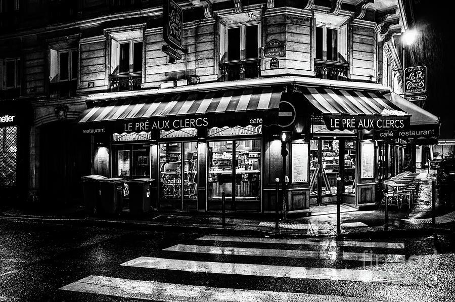Paris at Night - Rue Bonaparte by Miles Whittingham