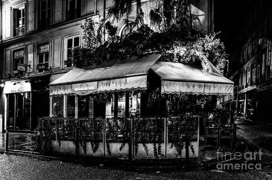 Paris at Night - Rue de Buci by Miles Whittingham