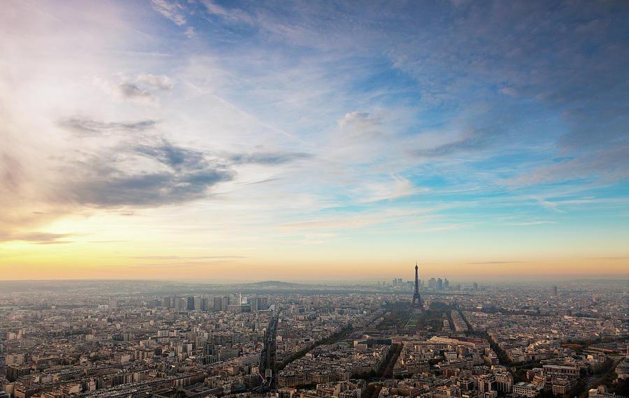 Paris Atmosphere Photograph by John And Tina Reid