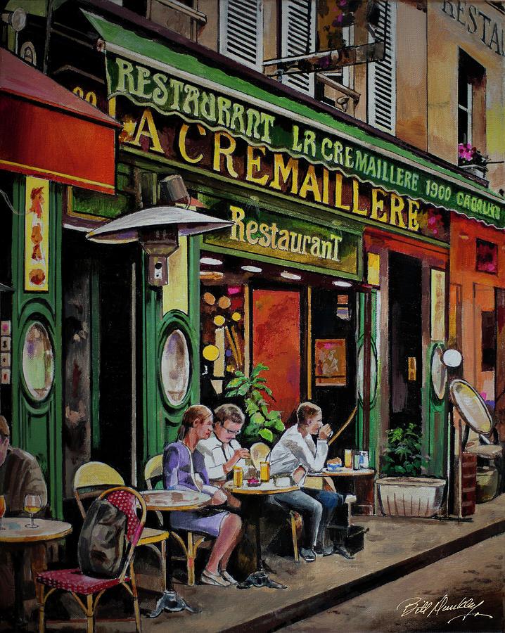 Paris Bistro by Bill Dunkley