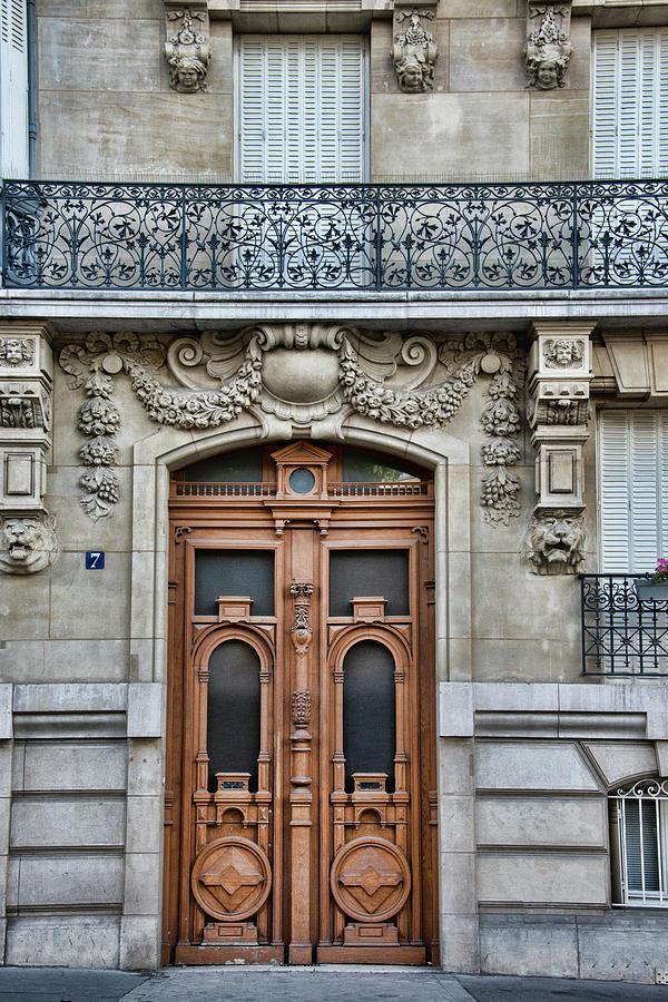 Paris Door by Curt Rush
