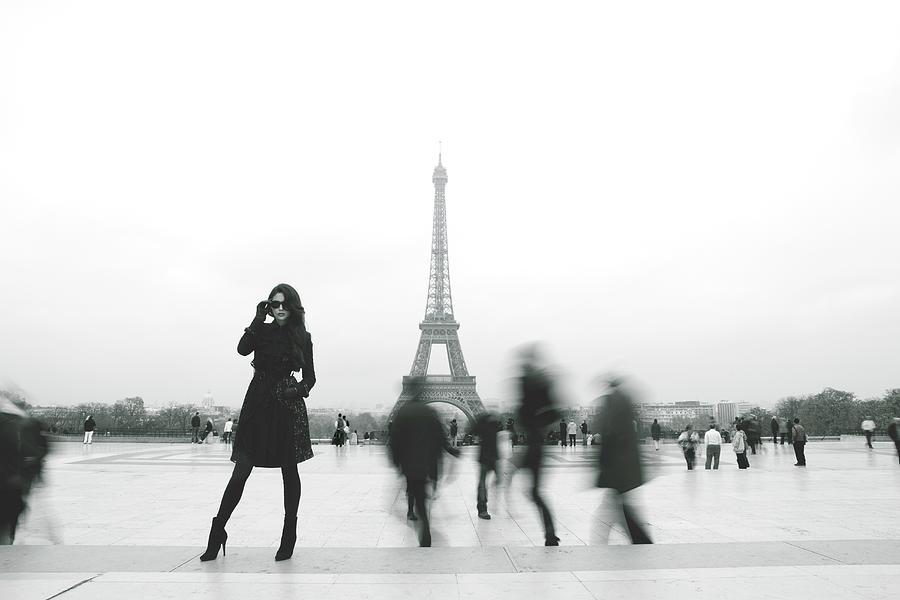 Paris Eiffel Tower Photograph by Marcaux