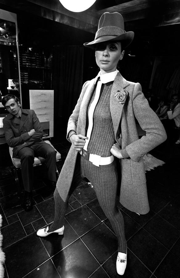 Paris Fashions Photograph by Evening Standard
