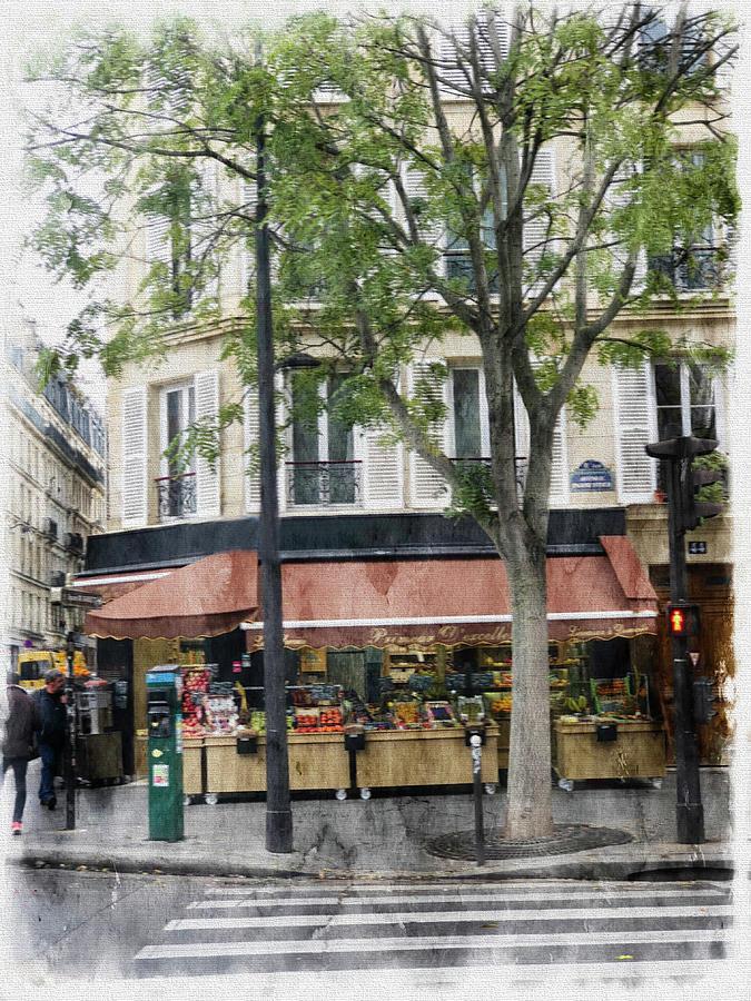 Paris Grocer Photograph