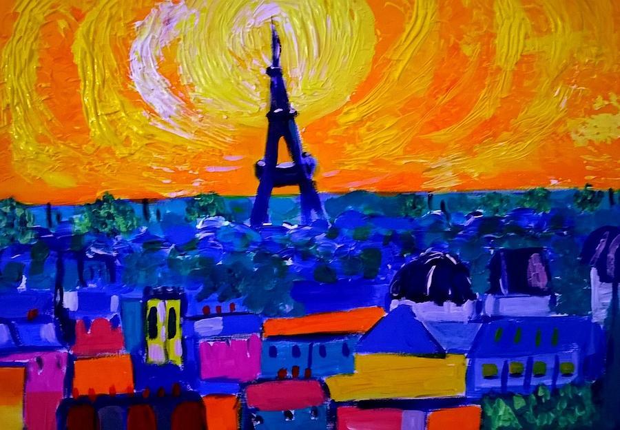 Paris in  a heatwave by Rusty Gladdish