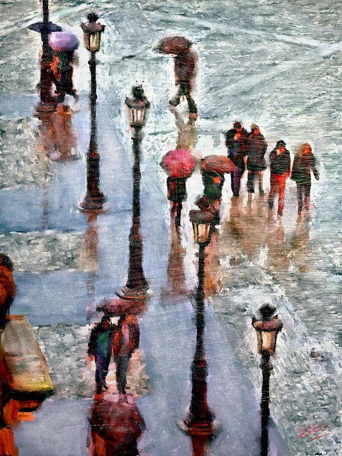 Paris in the rain by James Shepherd