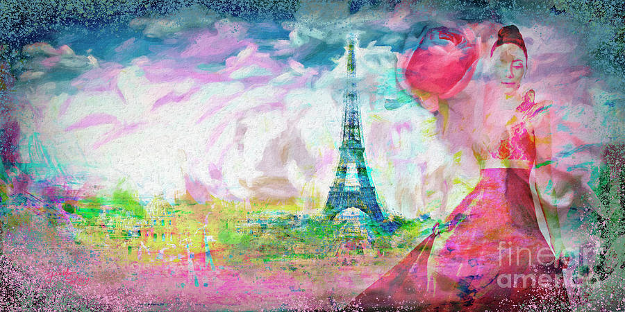 Paris Rose City of Love by Ginette Callaway