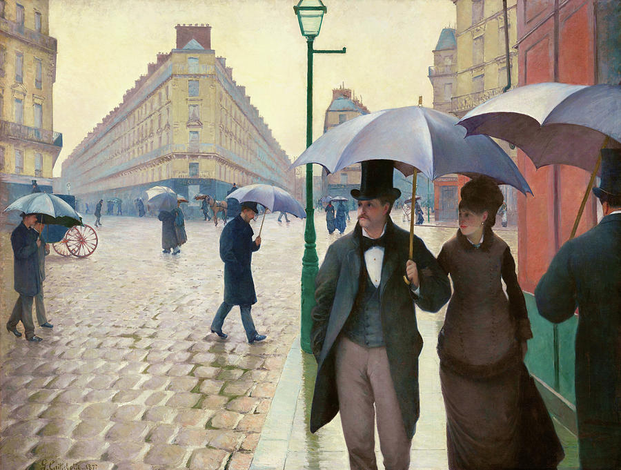 Gustave Caillebotte Painting - Paris Street In Rainy Weather - Digital Remastered Edition by Gustave Caillebotte