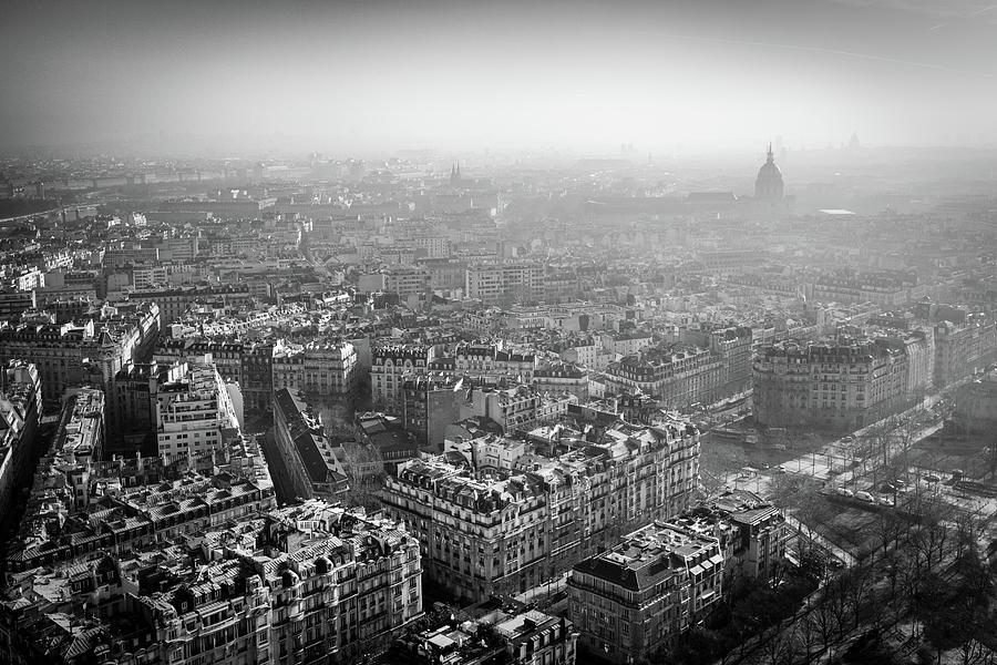 Paris View 1 by Nigel R Bell