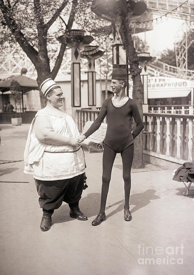 Parisian Circus Performers Photograph by Bettmann