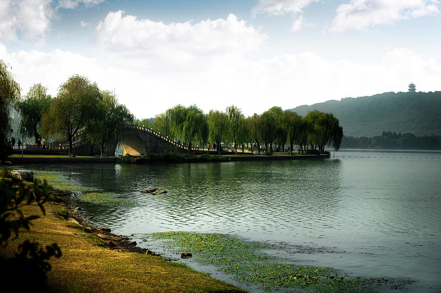 Park at Wuxi by Kathryn McBride