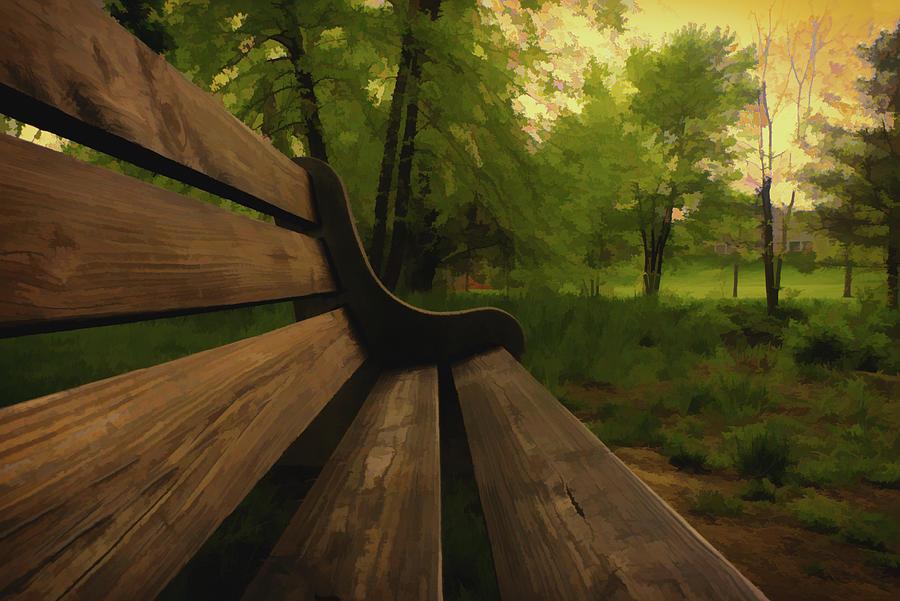 Park Bench by Jason Fink