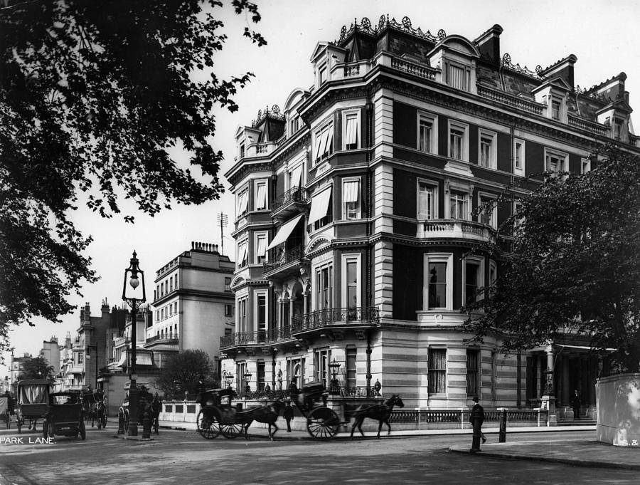 Park Lane Photograph by London Stereoscopic Company