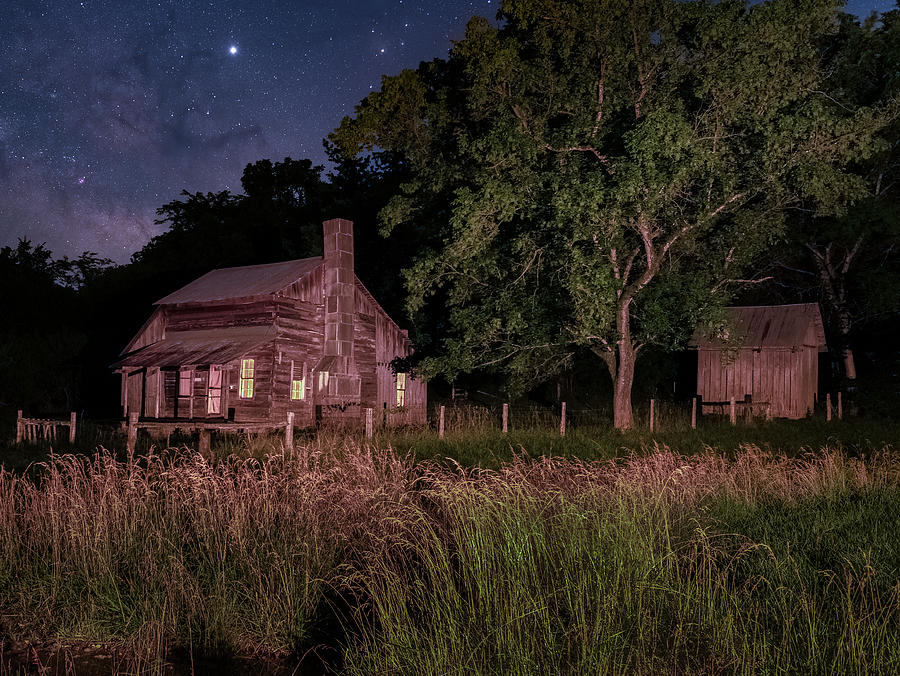 Parker-Hickman Farmstead Cabin by Hal Mitzenmacher