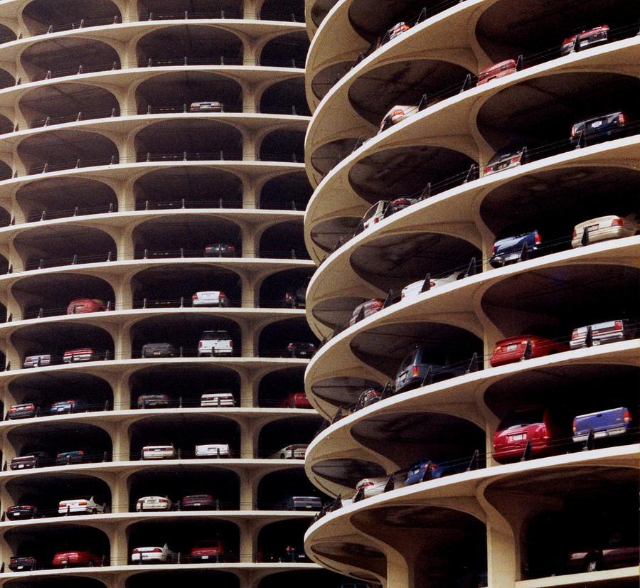 Parking Photograph by Cybergabi