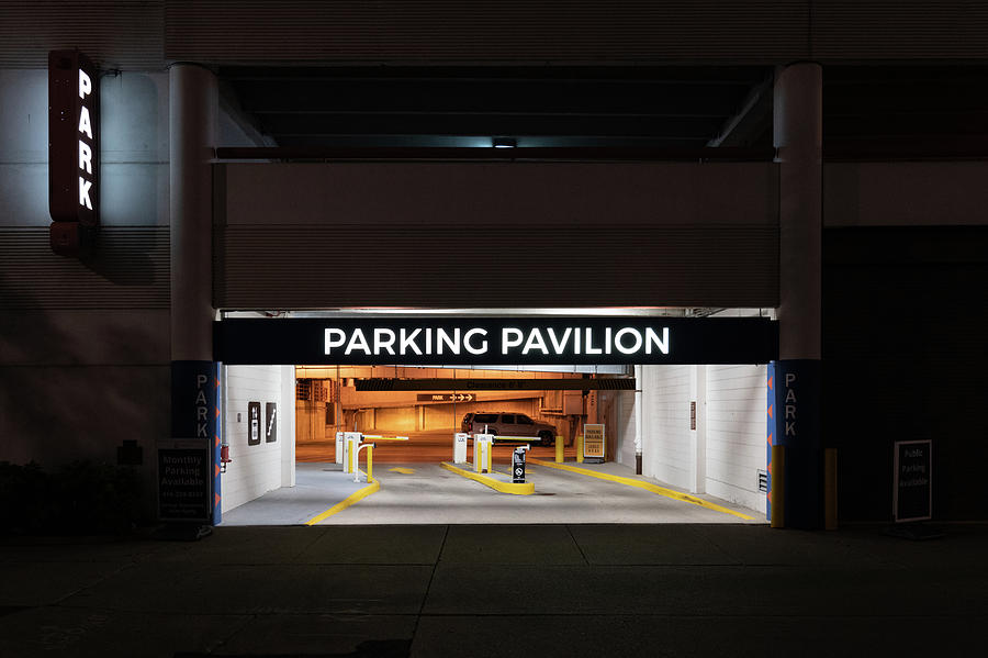 Parking Pavilion by Randy Scherkenbach